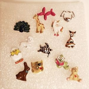 Origami owl animal charms